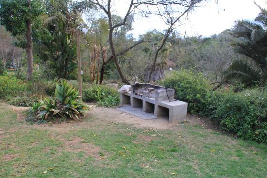 Addo, Sudáfrica: ieder hutje een eigen braai