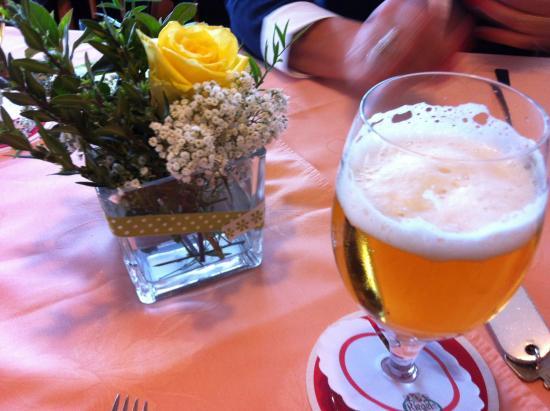 Eichstetten am Kaiserstuhl, Deutschland: Gasthof Rebland - Riegeler Bier