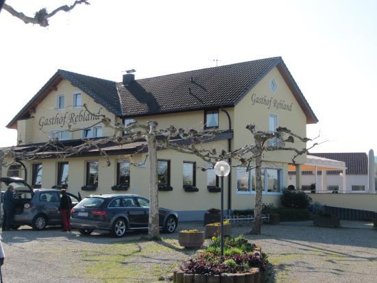 Eichstetten am Kaiserstuhl, Germania: Gasthof Rebland - Esterni della struttua