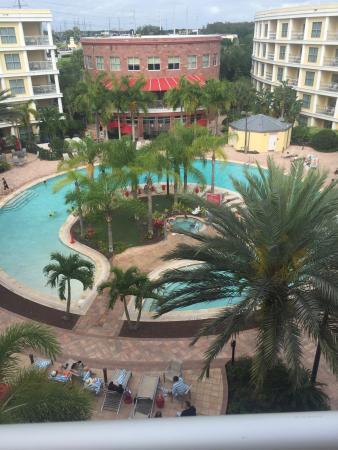 Melia Orlando Suite Hotel at Celebration: our view