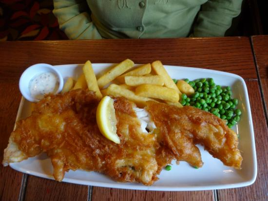 Shepherds Rest: Hand-Battered Haddock and Chips