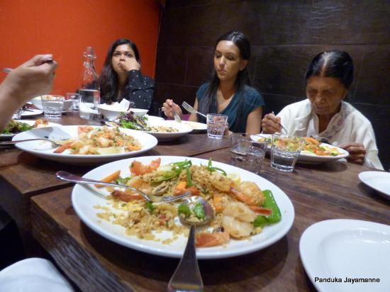 Baulkham Hills, Австралия: My prawn fried rice - yummy