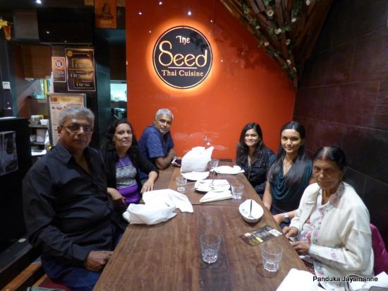 Baulkham Hills, Австралия: Family after dinner