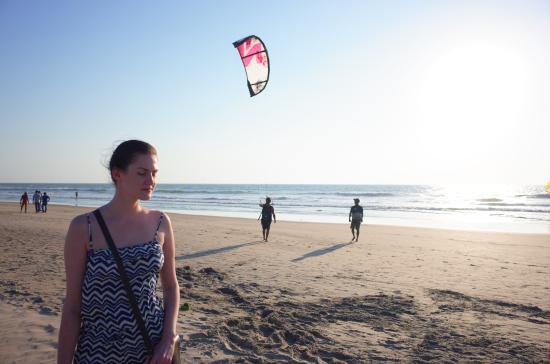 Mandrem Beach: Кайтеры любят Мандрем.