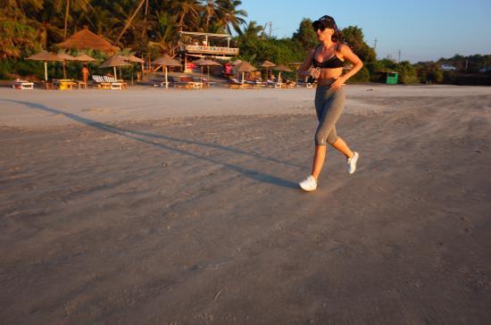 Mandrem Beach: Любите бегать - только Мандрем!