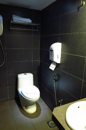 Teluk Intan, Malezya: Toilet area together with the shower area