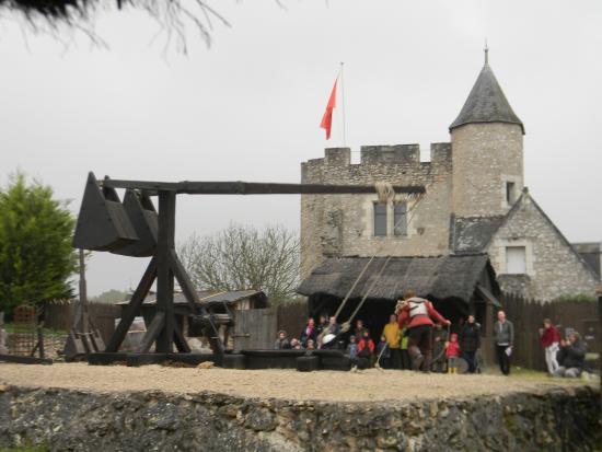 Montbazon, Frankrike: Démonstration de tir du couillard