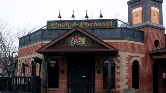 The Cock And Pheasant