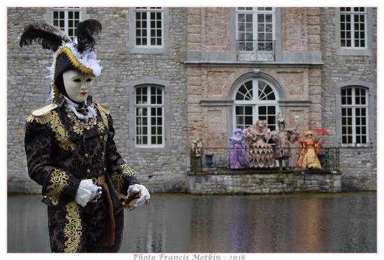 Les Jardins d\u0027Annevoie  Costumés de Venise, Avril 2016
