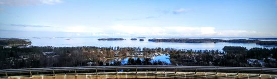 Haikaranpesä: View from panorama terrace