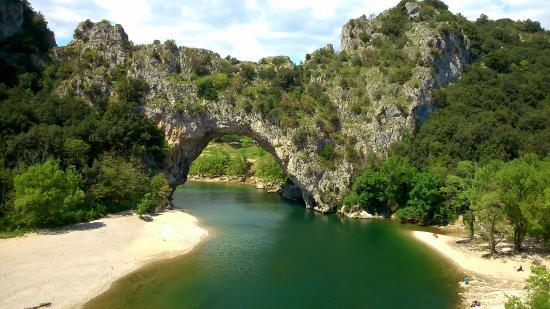 Pont De L Arc Picture Of Gorges De L Ardeche Vallon Pont