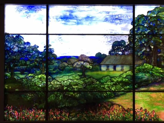 Greensburg, Pensilvania: Tiffany Window at Westmoreland Museum of American Art