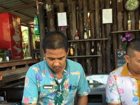 Phuket Kata Resort: Trevlig poolpersonal
