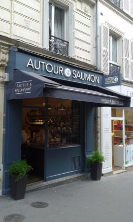 autour du saumon paris 56 rue des martyrs op ra bourse restaurant bewertungen. Black Bedroom Furniture Sets. Home Design Ideas