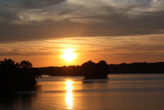 Sunset from Lake Barkley Lodge