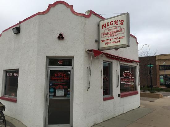 Nick's Hamburger Shop Picture