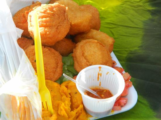 acaraje typical brazilian food from nordeste foto de salvador