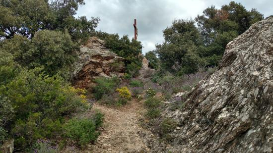The Cross at La Garde-Freinet