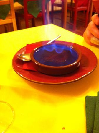 Fiumalbo, إيطاليا: crema catalana