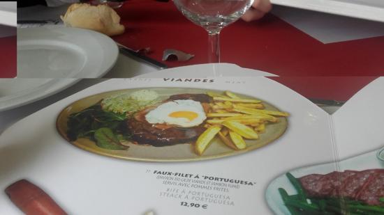 Moissy-Cramayel, Frankrig: Petit menu