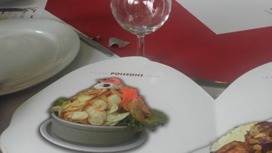 Moissy-Cramayel, Frankrig: Morue un vrai délice très bien servi