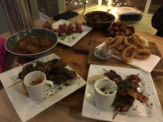 Brackley, UK: OMG tapas at their best