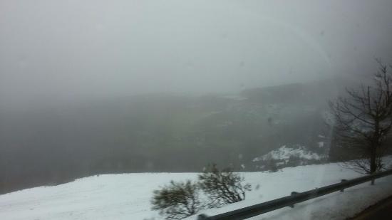 Pedrafita do Cebreiro, إسبانيا: Neve