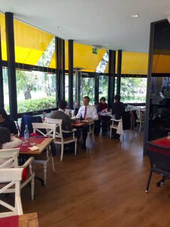 La terrace photo de la potini re jardin anglais gen ve for Restaurant jardin anglais