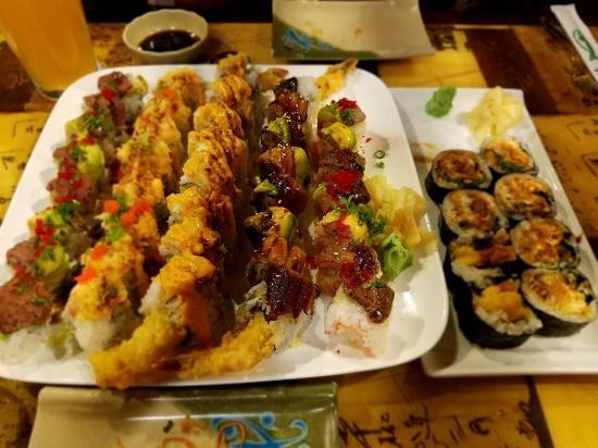 Clayton, Carolina del Norte: Sushi assortment