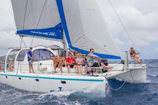 Spanish Town, Virgin Gorda: Tropical Day Sails