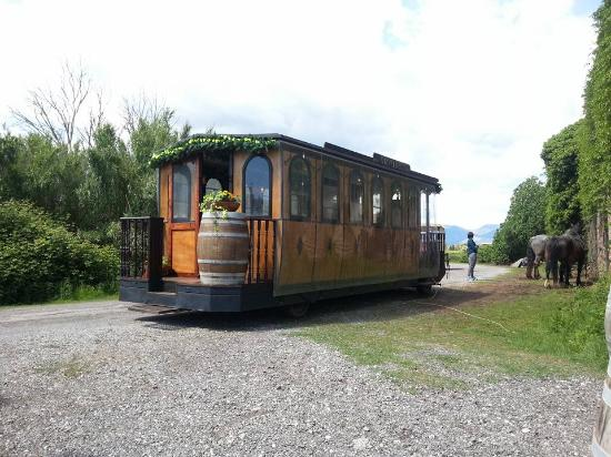 Crespina, Itália: l'omnibus del 1800