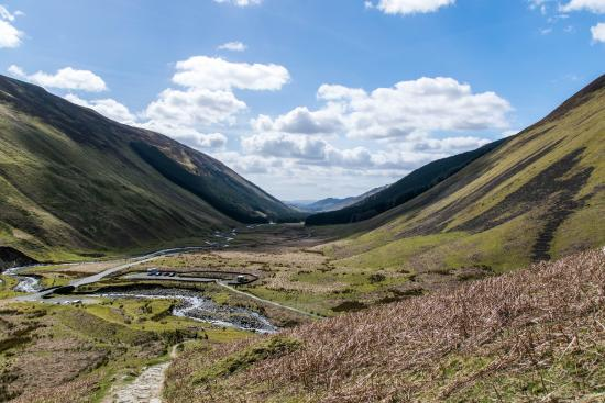 Dumfries ve Galloway, UK: Grey Mare's Tail