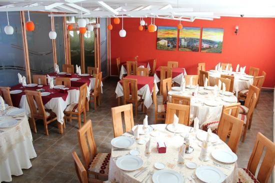 Hotel Alhambra: Comedor . Área de desayunos