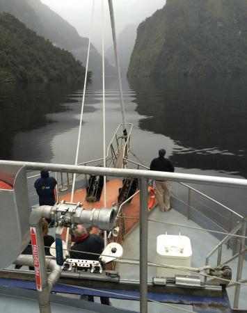 Manapouri, Nova Zelândia: Into the unknown