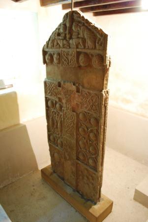 Nigg, UK: Pre-restoration Pictish Slab