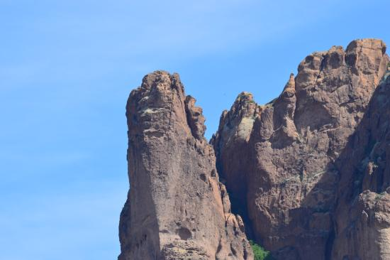 Lost Dutchman State Park: Natural Face