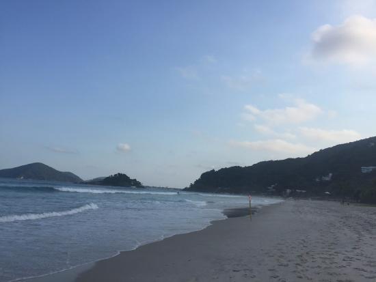 Final de tarde na praia de São Pedro