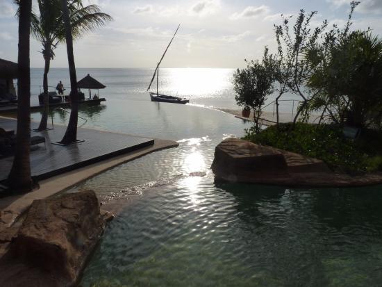 Bazaruto Island, Mosambik: Main pool