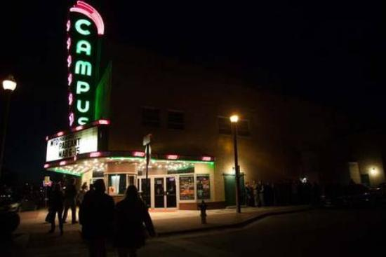 Campus Theatre : Campus Theater , a landmark ot to be missed in Denton, Texas.