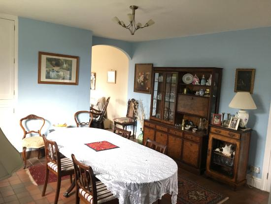 Hall Farm House Bed and Breakfast: Dining room