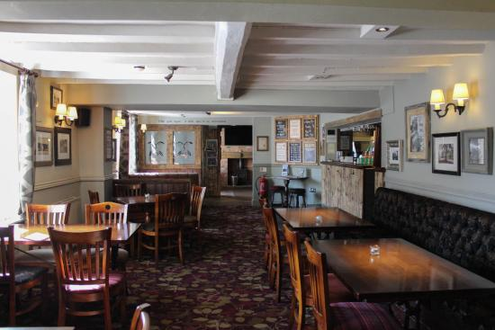 The Green man: Dining Area
