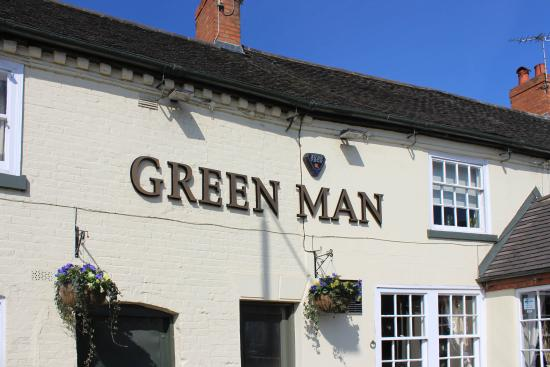 The Green man: Front