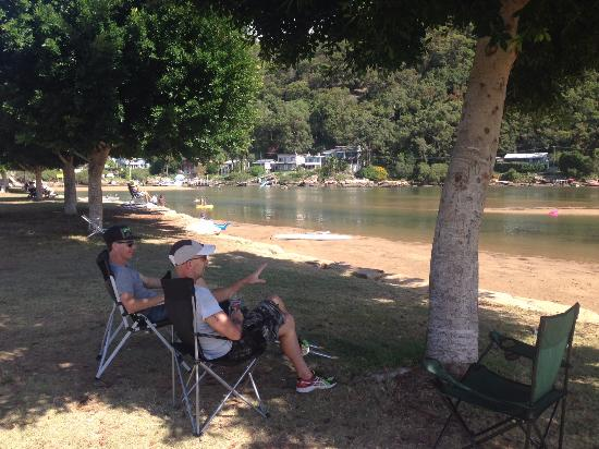 Patonga, Australia: overlooking the creek