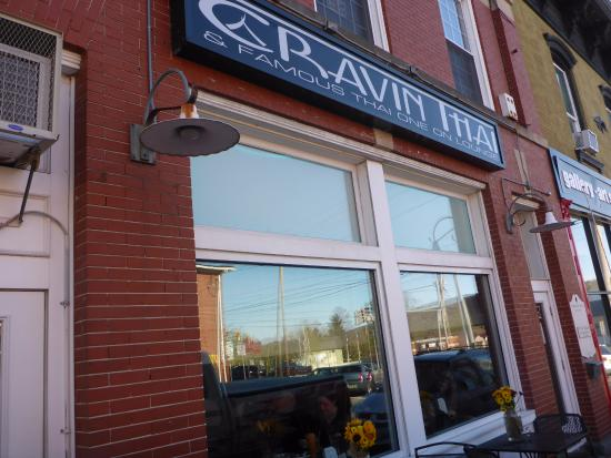 Hamburg, Nueva Jersey: Front of Cravin Thai