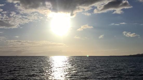 Maalaea, Hawái: Sunset from Alii Nui sail boat
