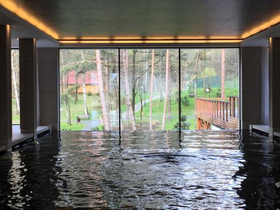 Polanica Zdroj, Polonia: Nice view Swimming pool