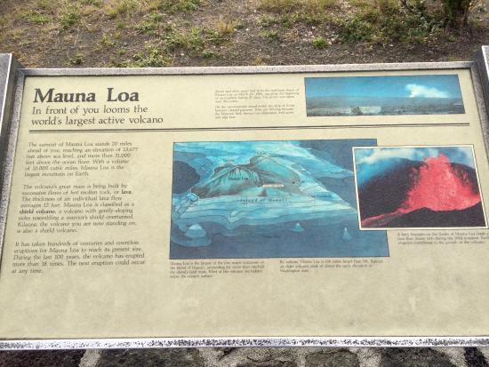 Big Island Volcano and Waterfalls Tours: Display Board
