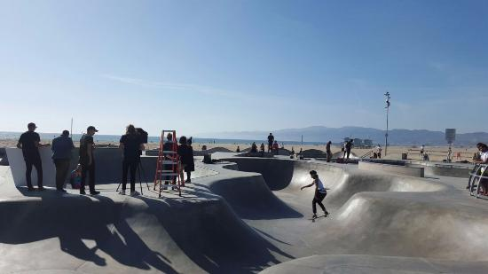 Skatepark En Venice Beach Picture Of 26 Mile Bike Path Santa