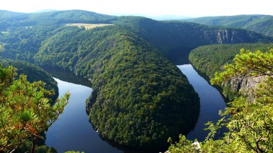 Davle, Tjekkiet: Svatojanske proudy - the most beatifull place just 25 minutes from Prague
