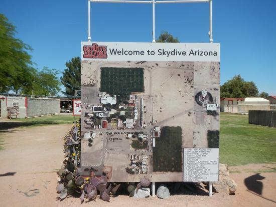 Map Of Eloy Arizona.Map Of The Dropzone Picture Of Skydive Arizona Eloy Tripadvisor